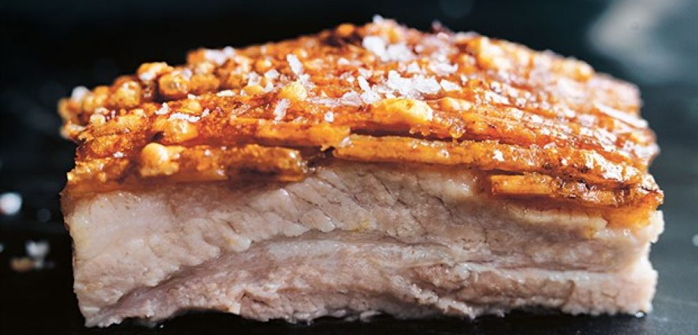 Roast Pork Belly, a delicious option for the versatile Pork Belly cut
